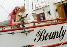 zeil lelystad bounty trouwschip